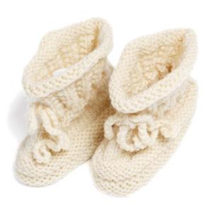 Baby Strickschuh**